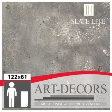SLATE LITE CONCRETE DARK OR BRIGHT 122X61CM
