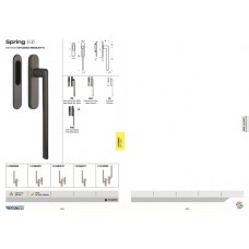 PULL HANDLE FOR LIFT AND SLIDE DOOR  SPRING 141